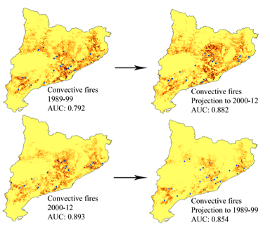 New article: Predictive modelling of fire occurrences from different fire spread patterns in Mediterranean landscapes